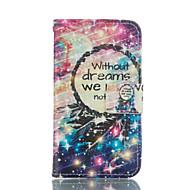 """Недорогие Чехлы и кейсы для Galaxy Core Prime-Для Кейс для  Samsung Galaxy Кошелек / Бумажник для карт / со стендом / Флип Кейс для Чехол Кейс для Рисунок """"Ловец снов"""" Мягкий"""