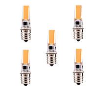 E17 Faretti su binario T 1 leds COB Oscurabile Decorativo Bianco caldo Luce fredda 400-500lm 2800-3200/6000-6500K AC 110-130V