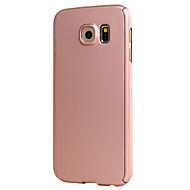 Para Samsung Galaxy S7 Edge Other Funda Cuerpo Entero Funda Un Color Dura Policarbonato Samsung S7 edge / S7 / S6 edge / S6