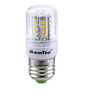 1db e14 / e27 / g9 / gu10 / b22 31smd 5736 420lm meleg fehér / fehér ac110v / 220v led corn light