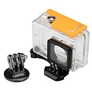 저렴한 -방수 하우징 케이스 마운트 방수 에 대한 액션 카메라 Xiaomi Camera 스노모바일 사냥과 낚시 보트 카약 웨이크보드 잠수 스키