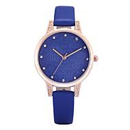 Недорогие Фирменные часы-REBIRTH Жен. Наручные часы Кварцевый Имитация Алмазный PU Группа Аналоговый Кулоны На каждый день Мода Черный / Белый / Синий - Серый Синий Розовый Два года Срок службы батареи / Mitsubishi LR626