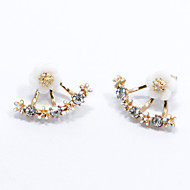 Women's Stud Earrings Fashion Simple Style Costume Jewelry Sterling Silver Flower Daisy Jewelry For Wedding Party Gift Daily Casual
