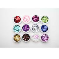 halpa -Nail Art Nail tarra Nail Jewelry / Glitter & Powder