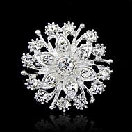 Žene Broševi Umjetno drago kamenje Moda Broš Jewelry Pink Za Party Special Occasion Rođendan Dar Dnevno