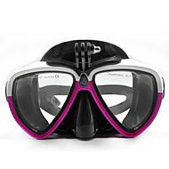 Ματογυάλια Μάσκες Κατάδυσης Βάση Ρυθμιζόμενο Όλα σε ένα Με προστασία από την σκόνη, Για-Κάμερα Δράσης,Gopro 6 Xiaomi Camera Gopro 5 Gopro