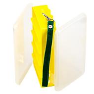 abordables Cajas para Pesca-Caja de pesca Caja de equipamiento Impermeable 2 Bandejas El plastico 4.5 cm 18 cm