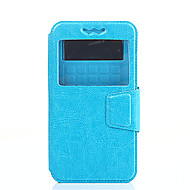 Для Кейс для Huawei / P9 / P9 Lite / P8 / P8 Lite / Honor 8 / Mate 8 Защита от удара / Защита от пыли / со стендом / с окошком / ФлипКейс