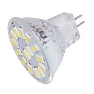 저렴한 -YouOKLight 350lm GU4(MR11) LED 스팟 조명 MR11 15 LED 비즈 SMD 5733 장식 따뜻한 화이트 차가운 화이트 9-30V