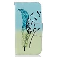 povoljno -Puno radno tijelo novčanik / Držač kartice / izdržati Perje Umjetna koža Tvrd Slučaj pokriće za Apple iPhone 7 / iPhone 7 Plus