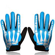 billige -Kingbike Aktivitets- / Sportshansker Sykkelhansker Vindtett Ultraviolet Motstandsdyktig Anvendelig Pustende Beskyttende Full Finger