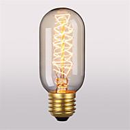 T45 E27 40ワットの白熱電球アンティークヴィンテージレトロエジソン電球(220-240V)