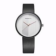 Недорогие Фирменные часы-REBIRTH Муж. Наручные часы Кварцевый Повседневные часы / PU Группа Аналоговый На каждый день Мода минималист Черный / Белый - Белый Черный / Белый Черный Два года Срок службы батареи
