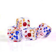 preiswerte Spielzeuge & Spiele-Würfel Würfel und Chips Spielzeuge Quadratisch Krystall PVC 5 Stücke Geschenk