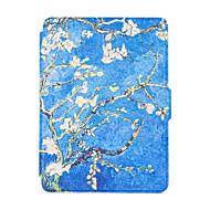voordelige Kindle-hoesjes/covers-voor nieuwe Kindle-lezer smart ebook gevallen kleurrijk geschilderde lederen tas flip cover multocolor