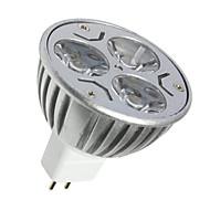 3 GU5.3(MR16) LED Spot Işıkları MR16 3 SMD 250LM lm Sıcak Beyaz / Serin Beyaz Dekorotif DC 12 V 1 parça