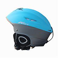 AIDY® Sisak Uniszex Snow Sport Helmet Ultra könnyű (UL) / Sportok Sport Helmet Kék Snow Helmet CE EN 1077 PC / EPS Télisportok / Sí
