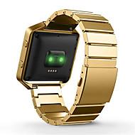 Недорогие Аксессуары для смарт-часов-Ремешок для часов для Fitbit Blaze Fitbit Классическая застежка Металл Повязка на запястье