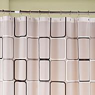 billige Badeværelsesartikler-1pc Brusegardiner Moderne PEVA Badeværelse