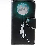 お買い得  携帯電話ケース-ケース 用途 HTC / HTCの欲望626 HTCケース ウォレット / カードホルダー / スタンド付き フルボディーケース 風船 ハード PUレザー のために