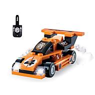 お買い得  -WOMA ブロックおもちゃ 45 pcs 車載 / レーシングカー 創造的 / アイデアジュェリー / DIY 男の子 ギフト