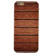 Назначение iPhone 6 iPhone 6 Plus Чехлы панели IMD Задняя крышка Кейс для Имитация дерева Мягкий Термопластик для Apple iPhone 6s Plus