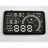coche de la exhibición HUD HUD cabeza coche de la exhibición sistema de alerta de exceso de velocidad coche que labra el HUD buena calidad