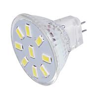 olcso LED szpotlámpák-GU4(MR11) LED szpotlámpák MR11 9 led SMD 5733 Dekoratív Meleg fehér Hideg fehér 150lm 3000/6000K 9-30V
