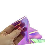 abordables Adhesivos para Uñas-1 pcs Puntas Completas de Uña Brillante Joyas de Uñas arte de uñas Manicura pedicura Encantador Glitters / Boda / Brillo y chispa / Joyería de uñas
