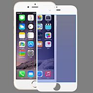 Недорогие Защитные пленки для iPhone-Закаленное стекло Уровень защиты 9H / 2.5D закругленные углы Защитная пленка для экрана Фильтр синего светаScreen Protector ForApple