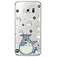 sarjakuva Totoro kuvio pehmeä ohut TPU takakansi Samsung galaxys7 reuna S7 S6 reuna S6 reuna plus s6 s5 s4