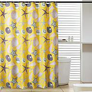 お買い得  浴室用小物-1個 シャワー用カーテン 近代の ポリエステル 浴室