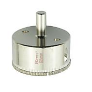 お買い得  -再び獲得するツール合金鋼ガラス穴オープナー穴の大きさ - 60ミリメートルの2PCS /箱
