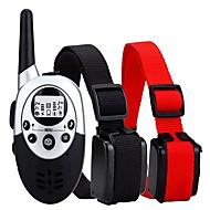 abordables Accesorios para Mascota-collar de la corteza Collares de Entrenamiento para PerrosAjustable/Retractable Impermeable Inalámbrica Antiladrido Recargable Control