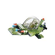 お買い得  -WOMA ブロックおもちゃ 208pcs 軍隊 / 戦闘機 / 馬 アイデアジュェリー 男の子 ギフト