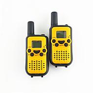1 Paar Liebhaber Walkie-Talkie-Intercom-Eltern-Kind-Aktivitäten Mini-Radio