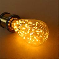 E26/E27 LED Globe Bulbs ST64 54 Dip LED 800 lm Warm White 2300 K Decorative AC 220-240 V