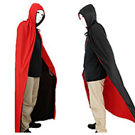 Halloween Clothing  Masquerade Costumes A God Of Death Cloak Vampire Red And Black Double-sided Cloak 150cm
