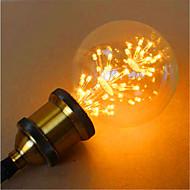 お買い得  LED ボール型電球-800lm E26 / E27 LEDボール型電球 G95 49 LEDビーズ DIP LED 装飾用 イエロー 220-240V