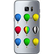 Для Samsung Galaxy S7 Edge С узором Кейс для Задняя крышка Кейс для Занавес Мягкий TPU Samsung S7 edge / S7 / S6 edge plus / S6 edge / S6
