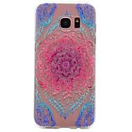 voordelige Galaxy S4 Hoesjes / covers-hoesje Voor Samsung Galaxy S8 Plus S8 Patroon Achterkantje Lace Printing Zacht TPU voor S8 S8 Plus S7 edge S7 S6 edge S6 S5 S4 S3