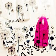 1 Nail Art αυτοκόλλητο Αυτοκόλλητα Νερό Μεταφορά μακιγιάζ Καλλυντικά Σχεδιασμός νυχιών Τέχνης