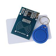 tanie Akcesoria Arduino-rc522 moduł RFID + karty IC + S50 kartki Fudan breloczki do (na Arduino) dostarczyć kod rozwoju