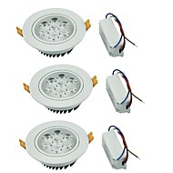LED Deckenstrahler Warmes Weiß / Kühles Weiß LED 3 Stück