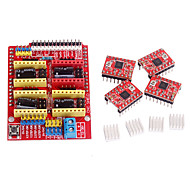 cnc schild v3 a4988 stepper driver voor ramps 1.4 RepRap 3D-printer