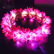 Недорогие Украшения в цветочном стиле-Жен. / Девочки С цветами / Цветочный дизайн / Цветы Обруч - Цветы Ткань