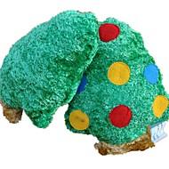 abordables Disfraces de Navidad para mascotas-Juguete Limpiador de Dientes Juguetes Crujientes Chirrido Felpa Para Juguete para Gato Juguete para Perro