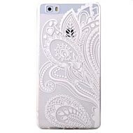 Для huawei p9 p8 lite корпус покрытие половина цветы шаблон tpu материал телефон оболочка для y5c y6 y625 y635 5x 4x g8