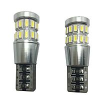 Недорогие Внешние огни для авто-2pcs Автомобиль Лампы SMD 4014 Светодиодная лампа Декоративное освещение / Подсветка для номерного знака / Подсветка для чтения
