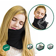 Travel Pillow Portable Foldable Travel Rest Machine Washable Comfortable Relieve neck and shoulder pain Adjustable Neck Support Traveling